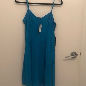 Express Blue Dress Brand New With Tags